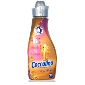 COCCOLINO CONCENTRATED 30 WASHES SANDALS & HONEYCOMB SOFTENER MINI