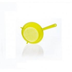 COLABRODO IN PLASTICA Bianco/Giallo Ocra/Verde Acido