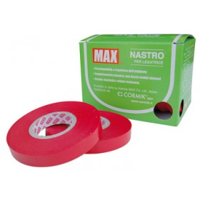 TAPE FOR BINDER 10 ROLLS T25 MT. 16 RED 0.25