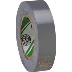 PVC TAPE MM 15X MT 10 GRAY COLOR