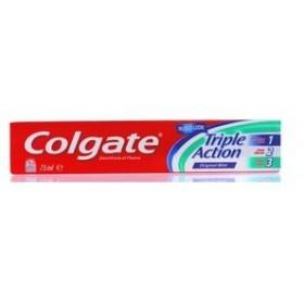 COLGATE TRIPLE ACTION TOOTHPASTE GEL ML. 75