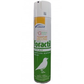 NEO-FORACTIL PESTICIDE INSECTICIDE ACARICIDE SPRAY FOR BIRDS ML. 300