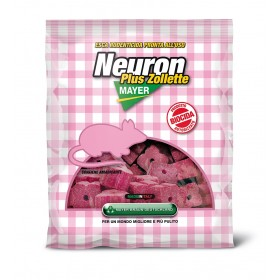 NEURON POISON FOR MICE RATICIDE WITH HOLED CUBES FOR