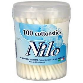 NILO COTTON STICK BIODEGRADABLE 100 PCS COTTON FIOC