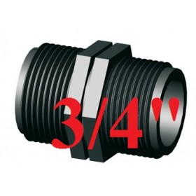 3/4 NYLON THREADED NIPLE