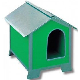 NOVITAL GALVANIZED KENNEL FOR DOGS POLAR mis. 2 CM. 43x58x58h.