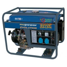 NUPOWER GENERATOR NPEGG5200 ELECTRIC START KW. 5.2