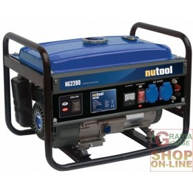 NUTOOL CURRENT GENERATOR NG2200 KW 2,2 HP. 6.5