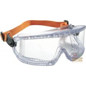 GLASSES WITH LENS POLYCARBONATE COD 1006193 FOG BAN ELASTIC
