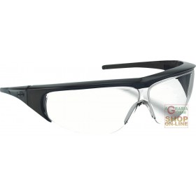 MILLENNIA BLACK FRAME GLASSES WITH COLORLESS LENSES