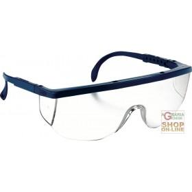 GLASSES SANTA CRUZ 896016 COLORLESS LENSES BLUE FRAME