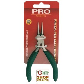 MINI PLIERS FOR PROFESSIONAL ELECTRONICS ART.203 PRO SERIES ROUND JAWS