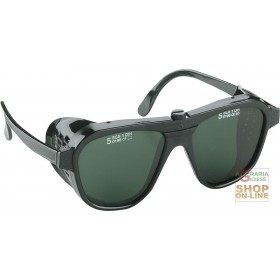 GLASSES WITH GREEN LENSES