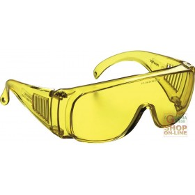 GLASSES WITH YELLOW LENS