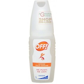 OFF LIQUID LOTION FOR THE DEFENSE OF MOSQUITOES ML. 100