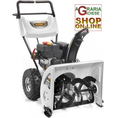 ALPINA SNOW SWEEP AS 62 WITH SNOW TURBINE ELECTRIC STARTER AND