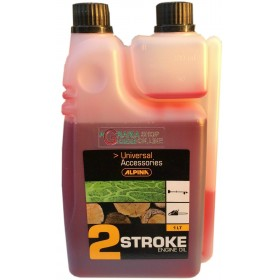 TWO-STROKE SYNTHETIC OIL FOR MIX CHAINSAWS BRUSHCUTTERS ALPINA CASTOR 2T LT. 1