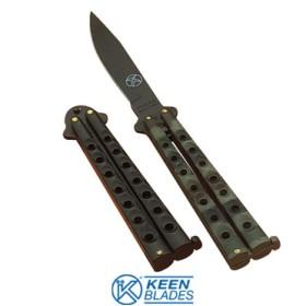 BUTTERFLY KNIFE MIMETIC BLADE CM. 9 KBL 7125