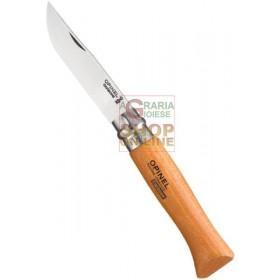 OPINEL KNIFE CARBON BLADE BEECH HANDLE N. 12