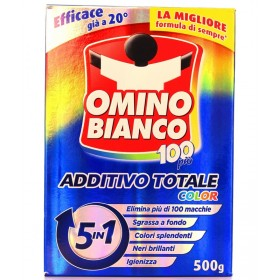 OMINO BIANCO COLOR 100 ADDITIVE PLUS 5 IN 1 500 GR