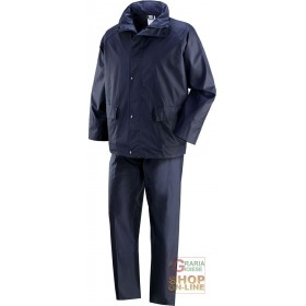 COMPLETE IN POLYURETHANE COLOR BLUE TG M XXL