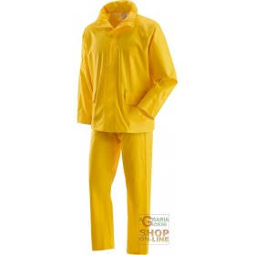 COMPLETE IN POLYURETHANE COLOR YELLOW TG M XXL