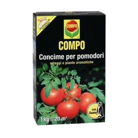COMPO FERTILIZER FOR TOMATOES WITH GUANO KG. 1