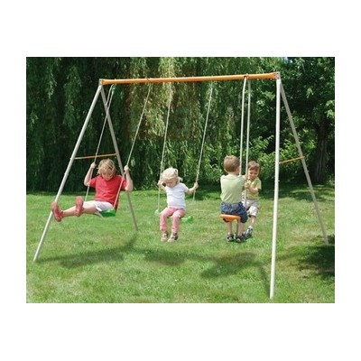 SWING WITH 4 SEATS AND WITH CAROUSEL SWING