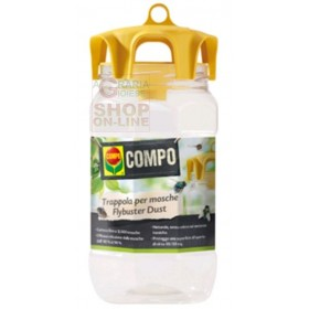 COMPO Flybuster Dust OUTDOOR FLY CATCHING TRAP WITH WATER-SOLUBLE POWDER