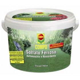 COMPO SOLFATO FERROSO ANTIMUSCHIO E RINVERDENTE KG. 5