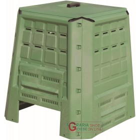 COMPOSTER COMPOSTER CONTAINER FOR COMPOSTING LT. 370 GREEN CM. 80x80x84h.