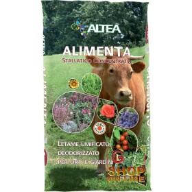ALTEA FOOD DEODORIZED HUMIFIED MANURE FOR GARDENS AND GARDENS 50 L