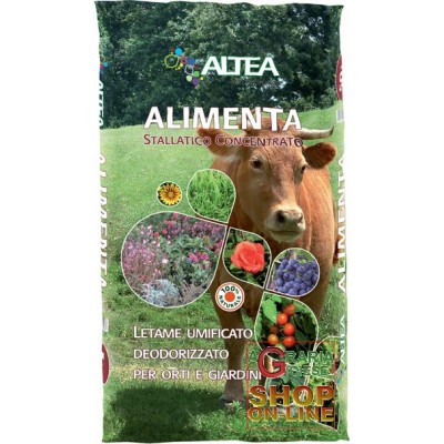 ALTEA FOOD DEODORIZED HUMIFIED MANURE FOR GARDENS AND GARDENS