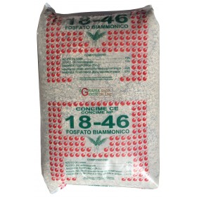 COMPOUND BIAMMON PHOSPHATE FERTILIZER NP 18.46 KG. 25
