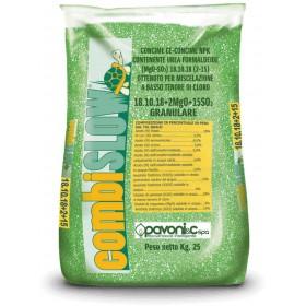 CONCIME GRANULARE MINERALE PAVONI COMBISLOW NPK 18.14.18+2 kg.