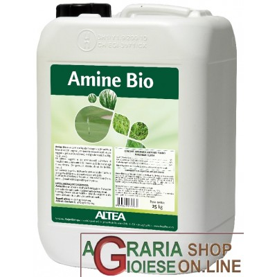 ALTEA AMINE BIO 3.0 LIQUID NITROGEN ORGANIC FERTILIZER ALLOWED IN ORGANIC AGRICULTURE LT. 20