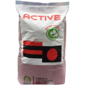 ACTIVE SUPER RED NPK 14.7.7 ORGAN MINERAL FERTILIZER WITH MICRO KG. 25