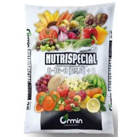 CONCIME ORGANO MINERALE NUTRISPECIAL NPK 8.16.8 kg. 25