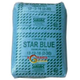 FERTILIZER STAR BLUE NPK 12.12.18 WITH MICROELEMENTS SIRIAC KG. 25