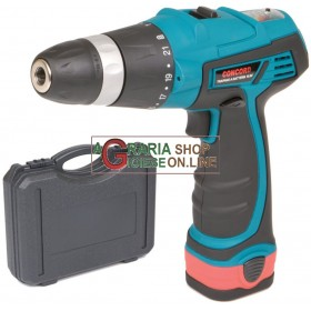 CONCORD DRILL DRIVER WITH LITHIUM BATTERY 10.8 VOLT FDL 30