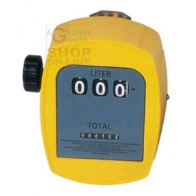 MECHANICAL METER FOR DIESEL LIQUIDS WATER FEMALE THREADED CONNECTION 1 IN.
