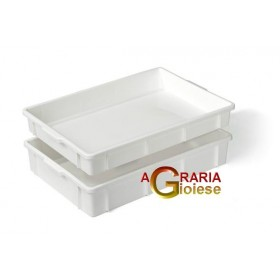 MULTIPLE CONTAINER LT. 13 CM. 60x40x7h. WHITE WITHOUT LID