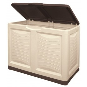 Bama Mettutto multipurpose container lt. 200 brown color cm. 78x45x64h.