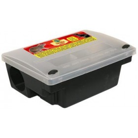 CONTAINER FOR TOPICIDE BAITS WITH SAFETY KEY CM.24X14XH.10,5
