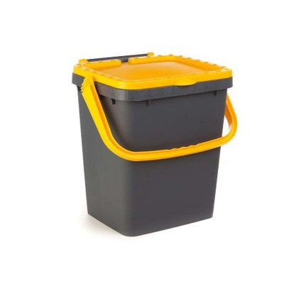 CONTAINER FOR ECOLOGICAL DIFFERENTIATED YELLOW COLOR LT. 35