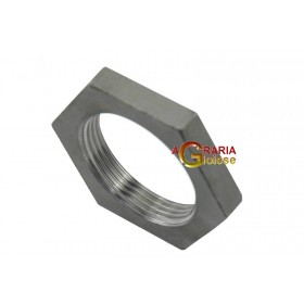 NUT IN STAINLESS STEEL AISI 316 1 IN.