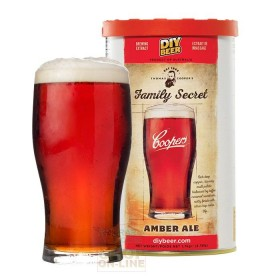 COOPERS MALT AMBER ALE MALT EXTRACT OF BARLEY AND HOPS FOR BREWING KG. 1.7