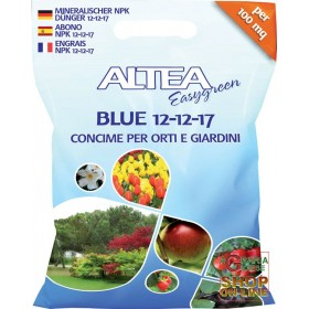 ALTEA BLUE 12-12-17 BALANCED GRANULAR FERTILIZER FOR GARDENS AND GARDENS KG. 4