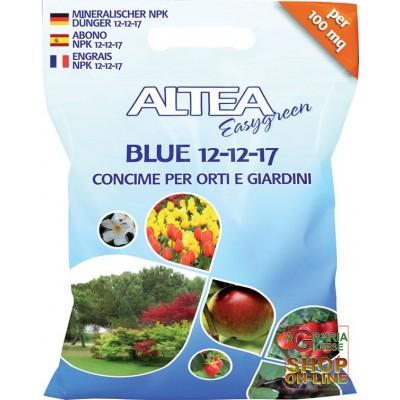ALTEA BLUE 12-12-17 BALANCED GRANULAR FERTILIZER FOR GARDENS