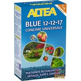 ALTEA BLUE 12-12-17 BALANCED GRANULAR FERTILIZER FOR GARDENS, ORCHARDS AND GARDENS 1 Kg